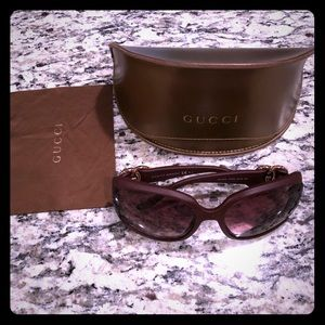 Gucci Matte Oversized Sunglasses
